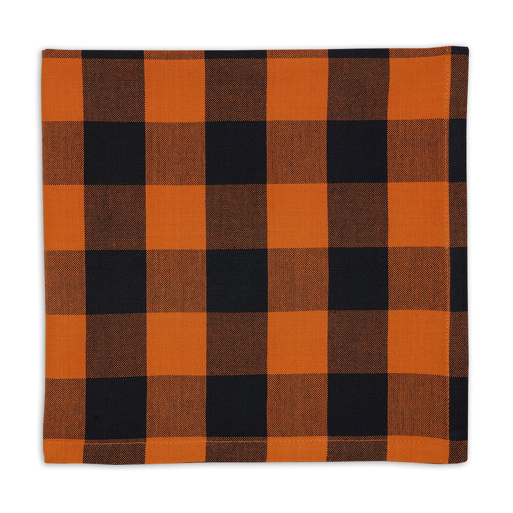 Pumpkin Plaid Napkin