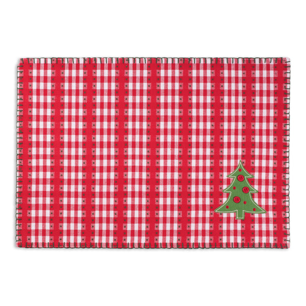 Jolly Tree Embellished Placemat
