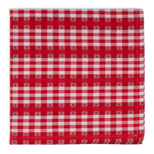 Red Holly Jolly Dobby Napkin