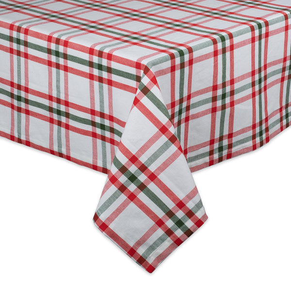Nutcracker Plaid Tablecloth