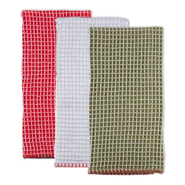 Christmas Cheer Dishtowel Set of 3