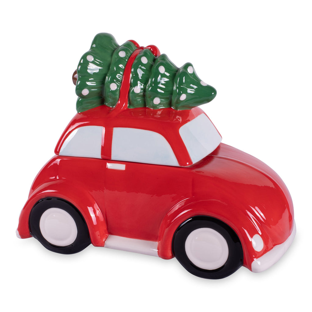 Christmas Car Cookie Jar