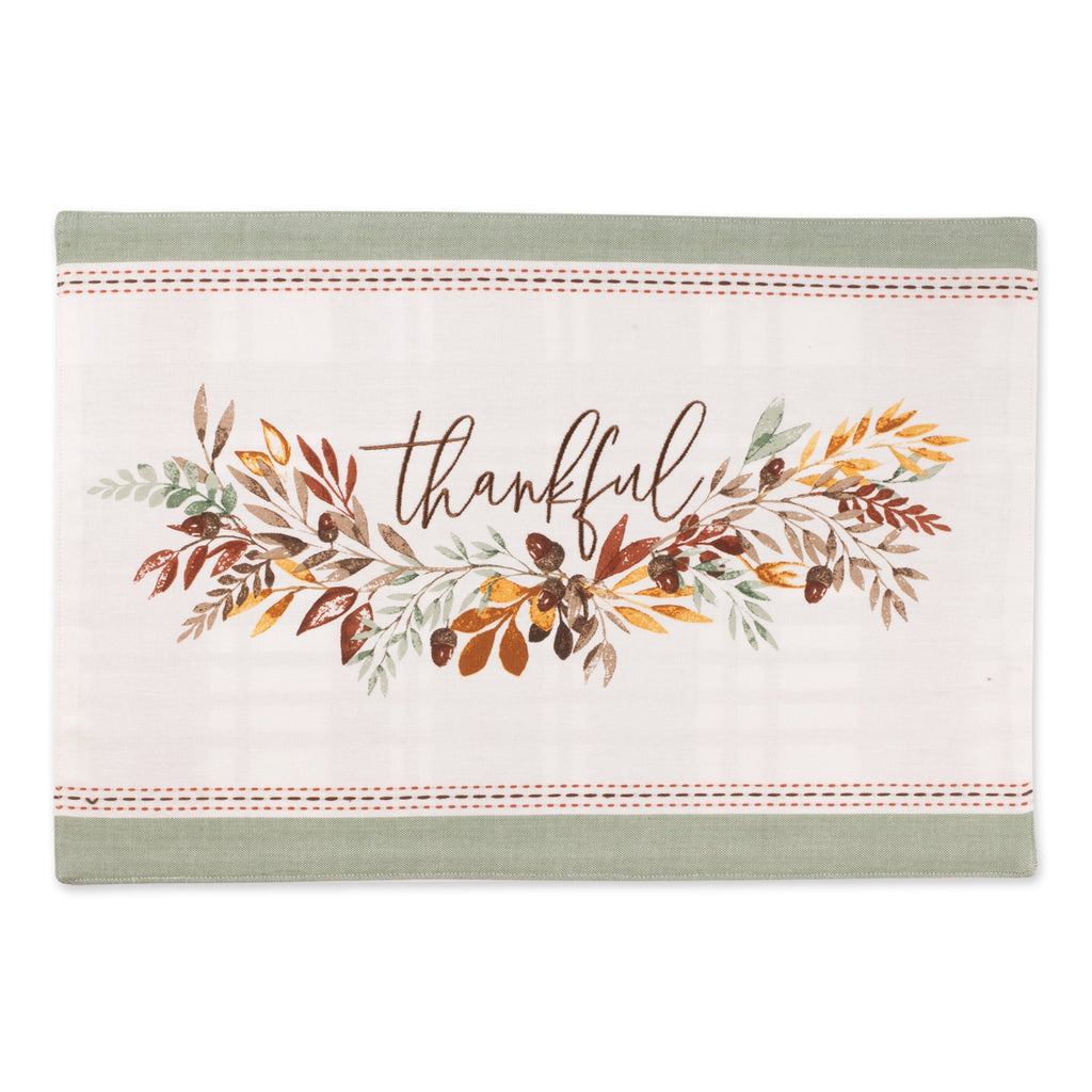 Thankful Embellished Placemat