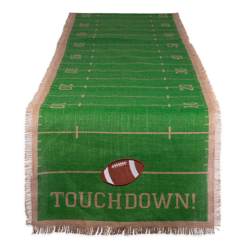 Touchdown Printed Table Runner - 14 x 74""