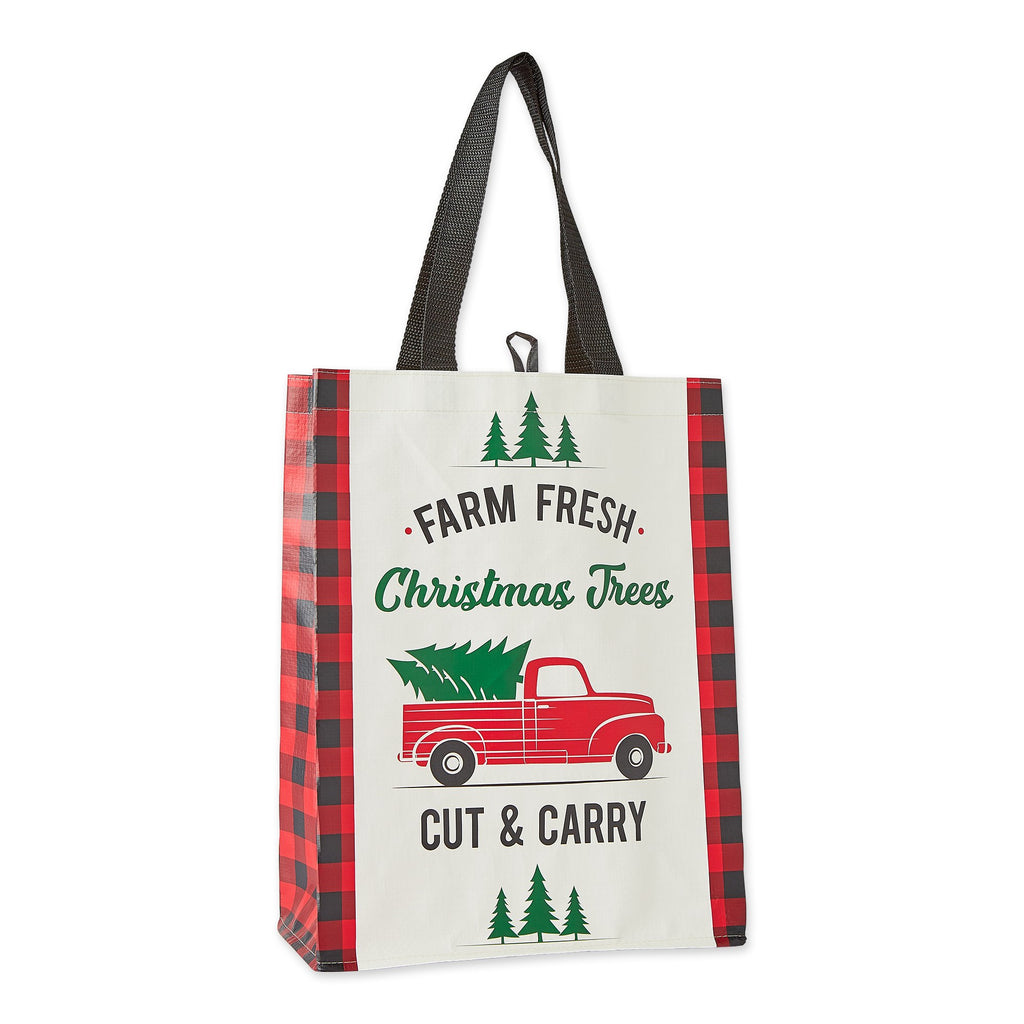 Christmas Truck Reusable Tote