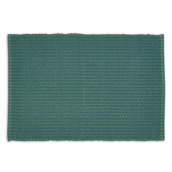 Patina Green Dobby Diamond Placemat - DII Design Imports