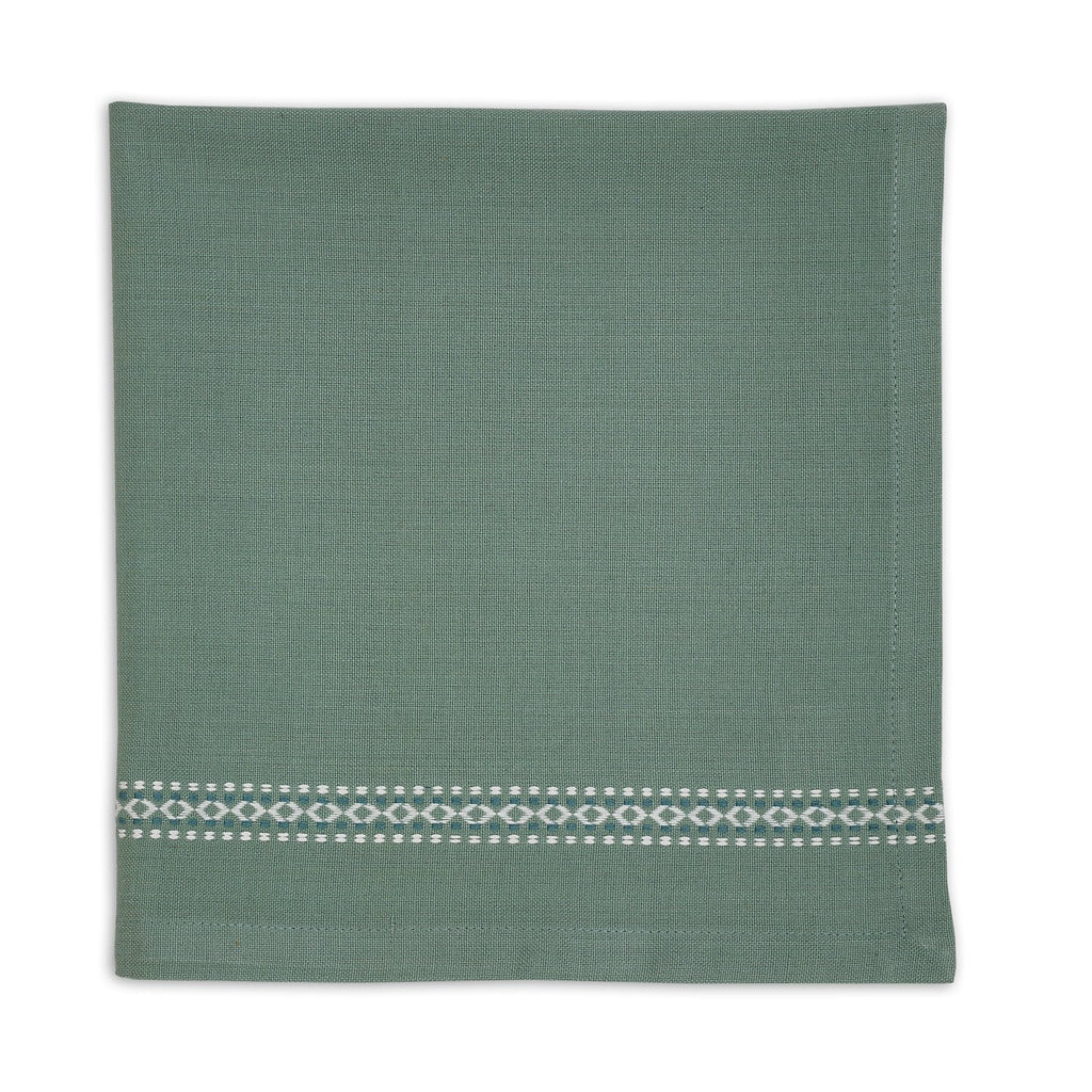 Patina Green Diamond Napkin - DII Design Imports