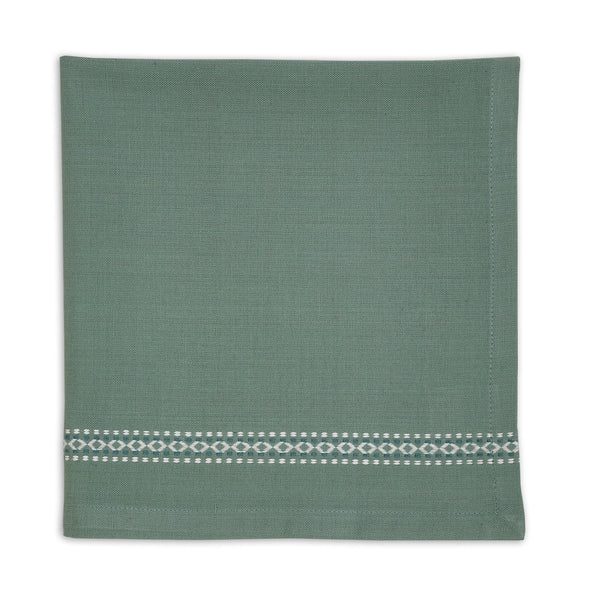 Wholesale Patina Green Diamond Napkin - DII Design Imports