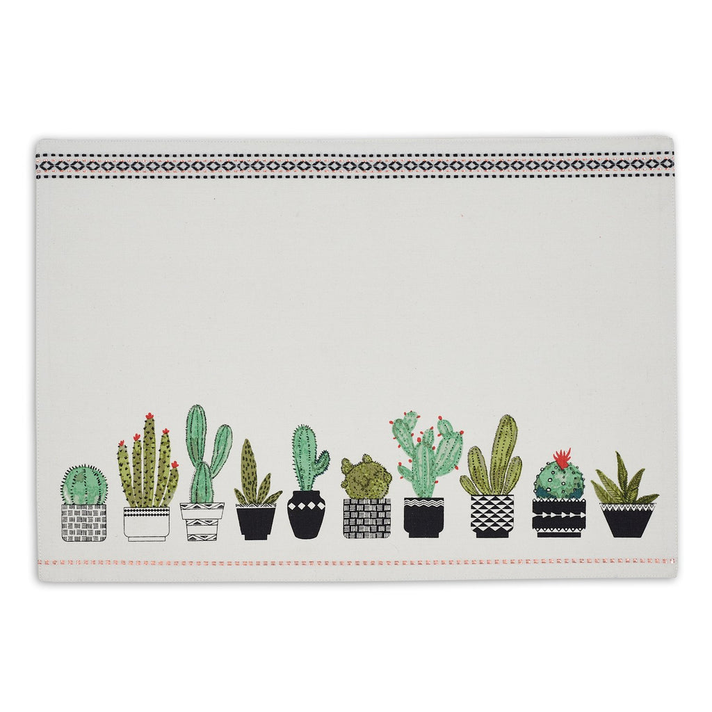Cactus Pots Printed Placemat - DII Design Imports