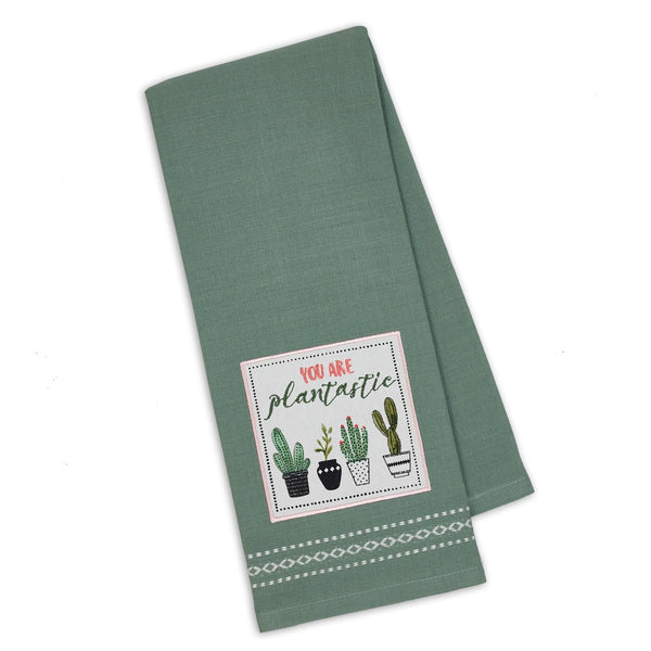 Wholesale Plantastic Embellished Dishtowel - DII Design Imports