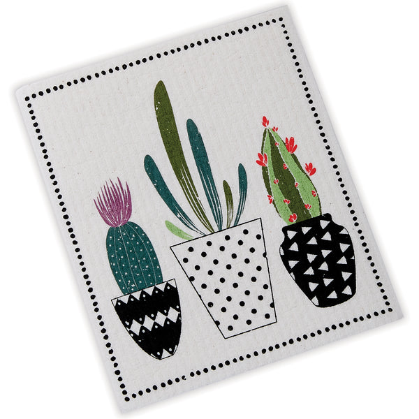 Urban Cactus Swedish Dishcloth - DII Design Imports