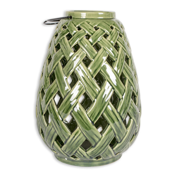 Bamboo Lattice Large Lantern