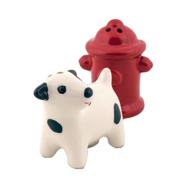 Dog Ceramic Salt & Pepper Shakers - DII Design Imports