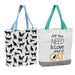 Cat Totes - DII Design Imports