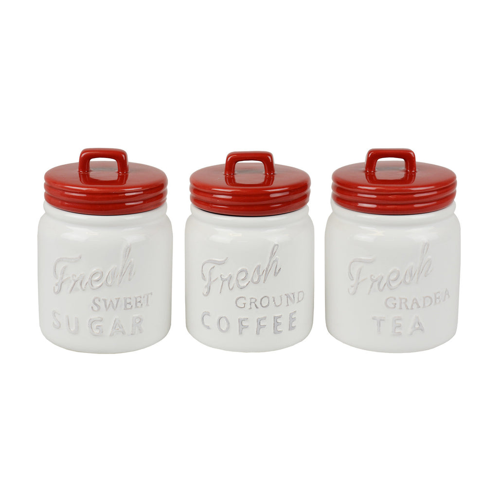 Wholesale - Kitchen Canister Set of 3 - DII Design Imports - 1