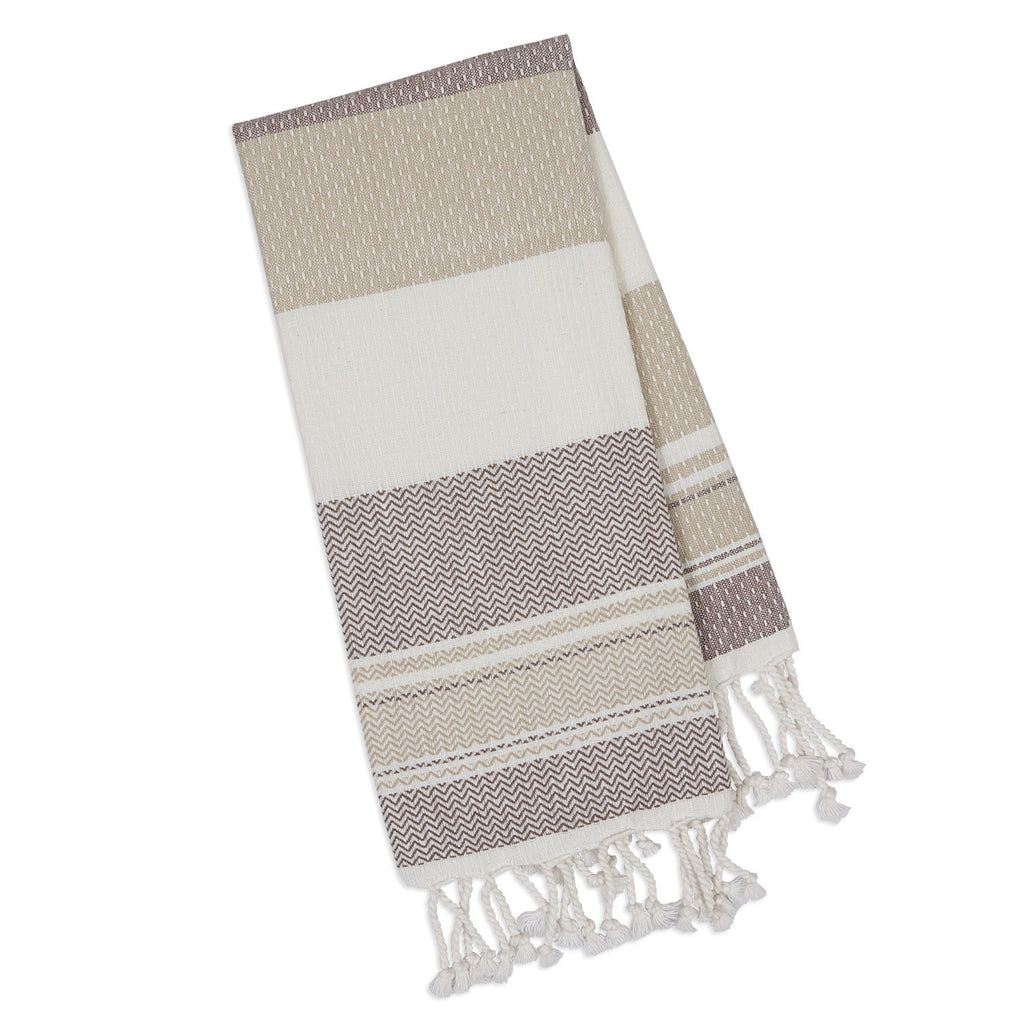 Wholesale - Natural Texture Fouta Towel - DII Design Imports - 1