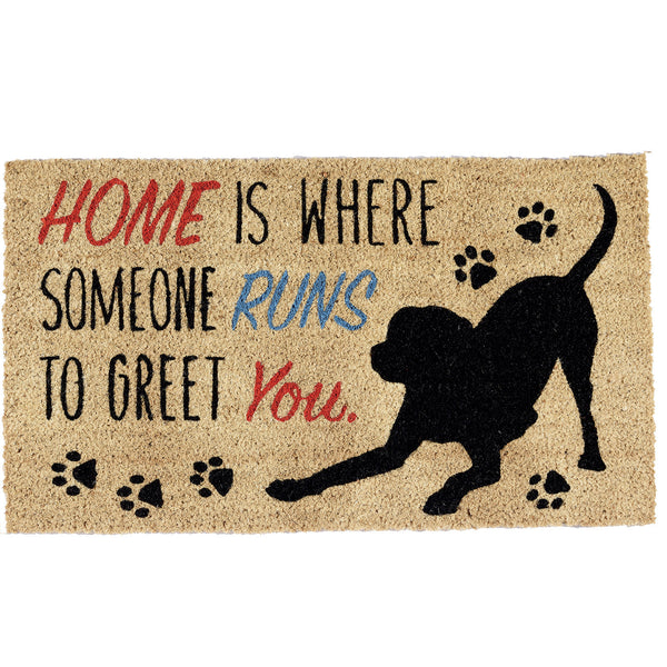 Home Dog Doormat - DII Design Imports