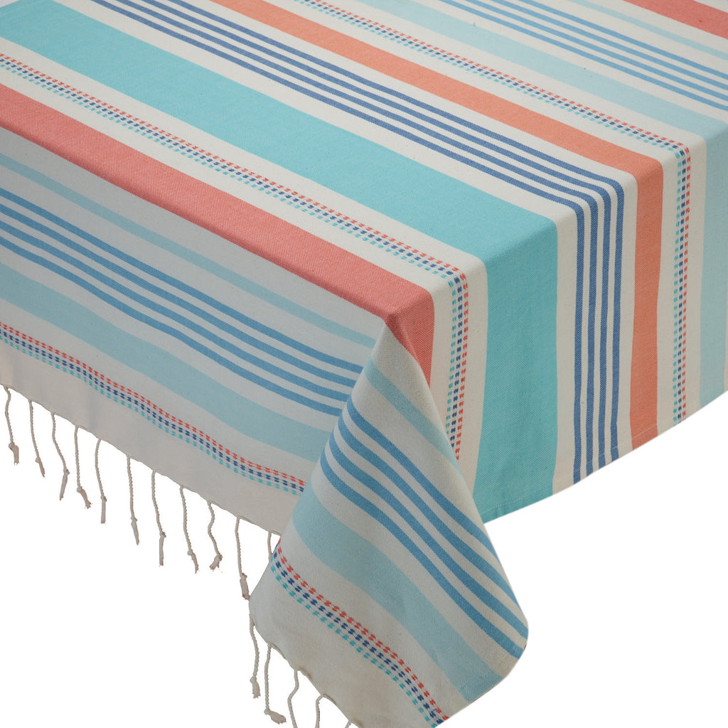 Atlantis Stripe Fouta Throw - DII Design Imports