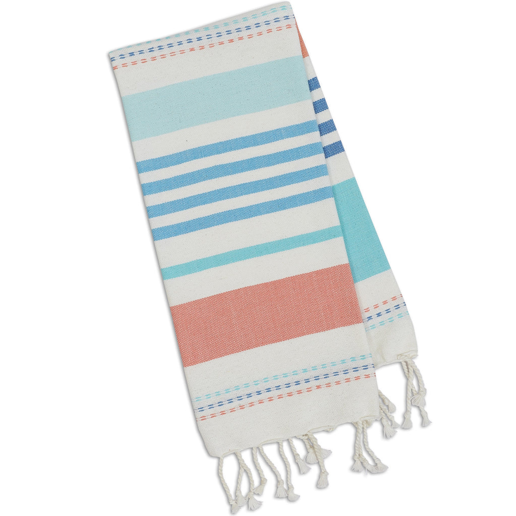 Wholesale Atlantis Stripe Fouta Towel - Small - DII Design Imports