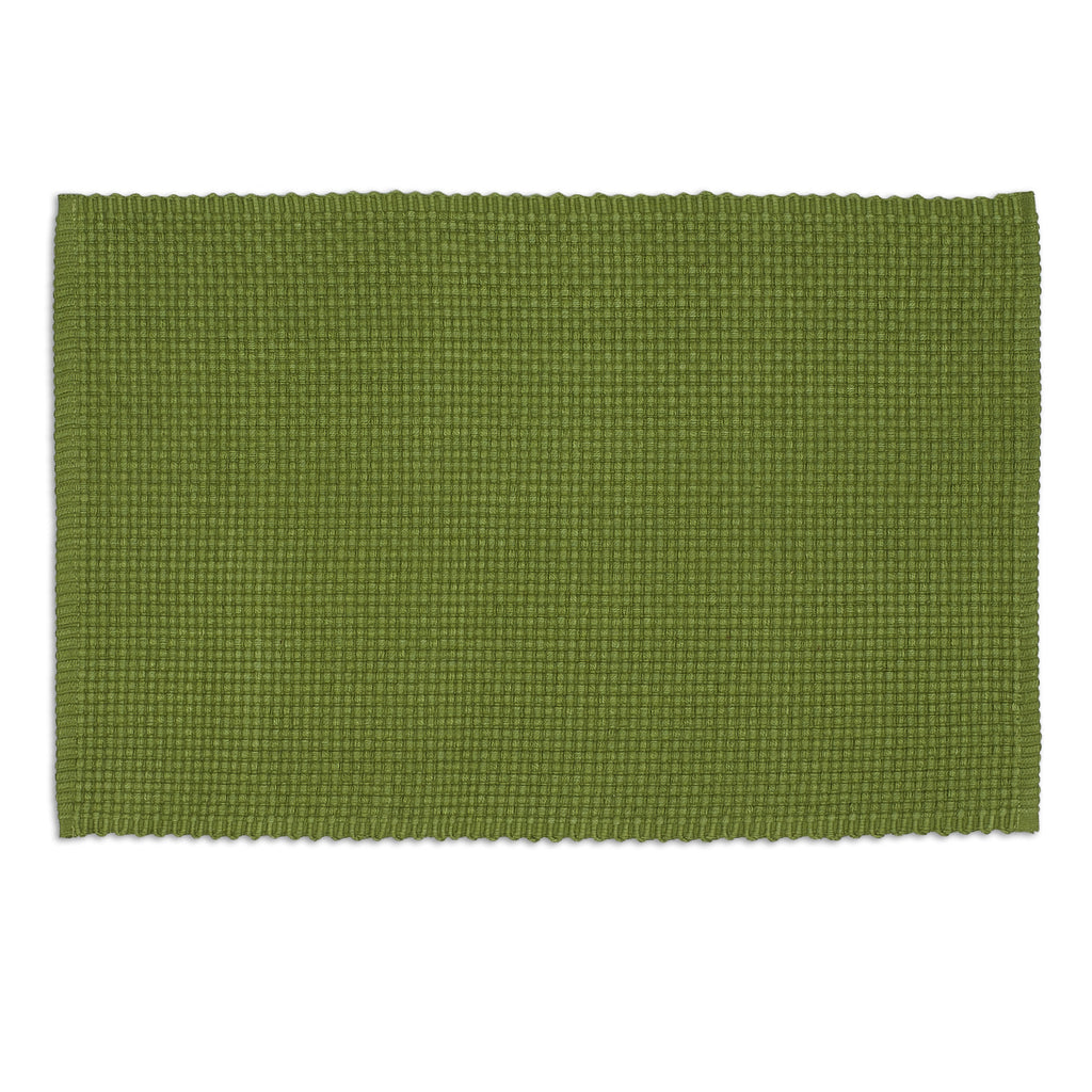 Vine Green Chunky Weave Placemat - DII Design Imports
