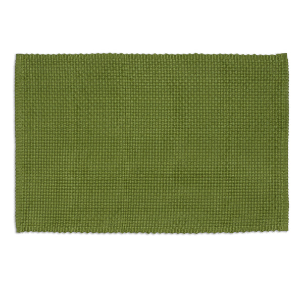 Vine Green Chunky Weave Placemat