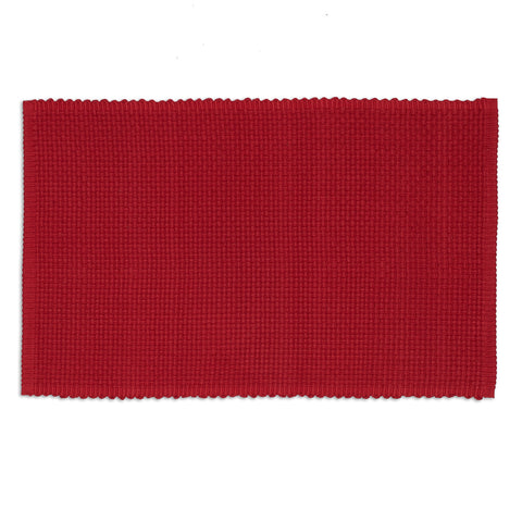 Cardinal Chunky Weave Placemat