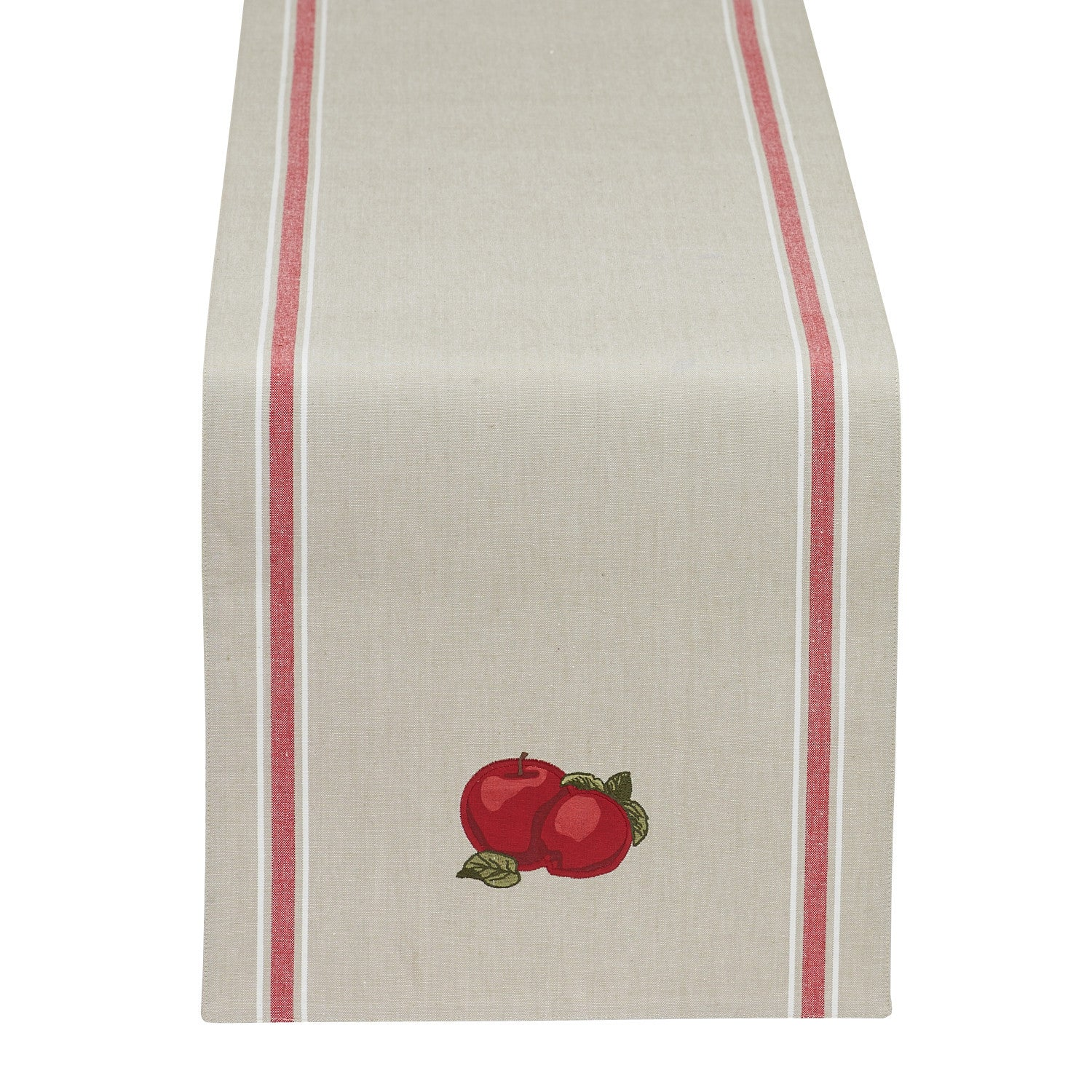 Apple Embellished Table Runner ...