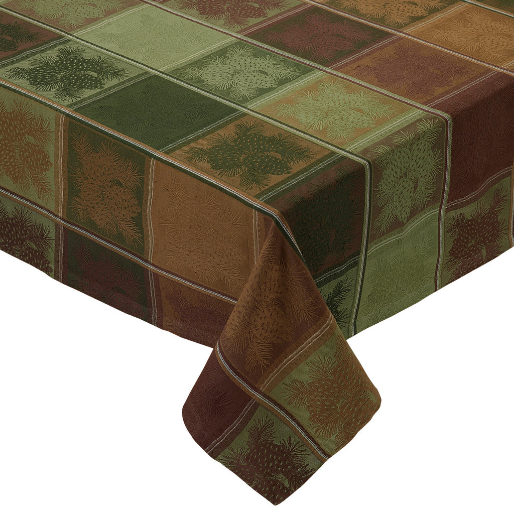 Wholesale Mountain Pine Jacquard Tablecloth - DII Design Imports