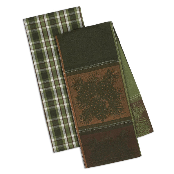 Mountain Pine Dishtowel Set of 2