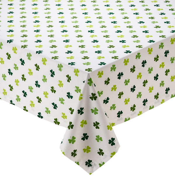 Shamrock Shake Printed Tablecloth - DII Design Imports