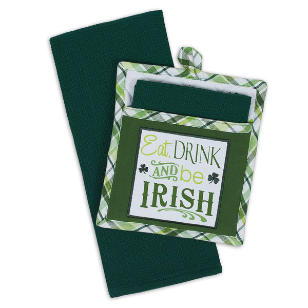 Wholesale Irish Potholder Gift Set - DII Design Imports