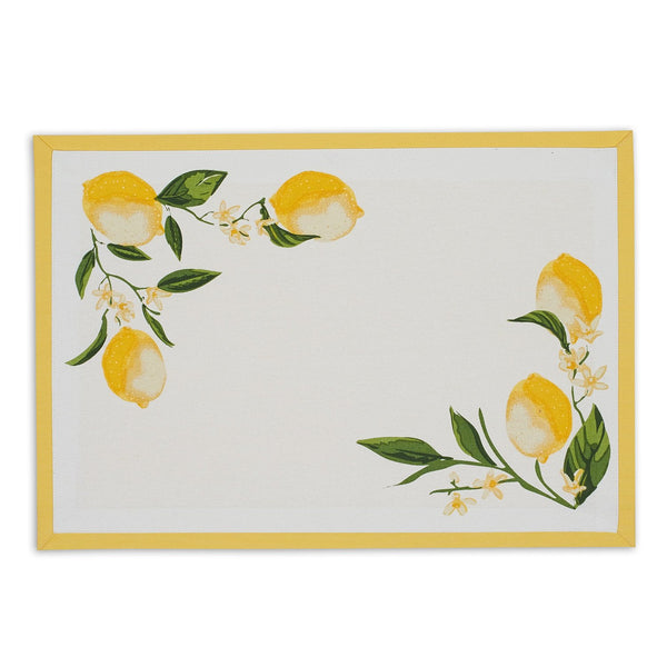 Lemon Bliss Printed Placemat - DII Design Imports