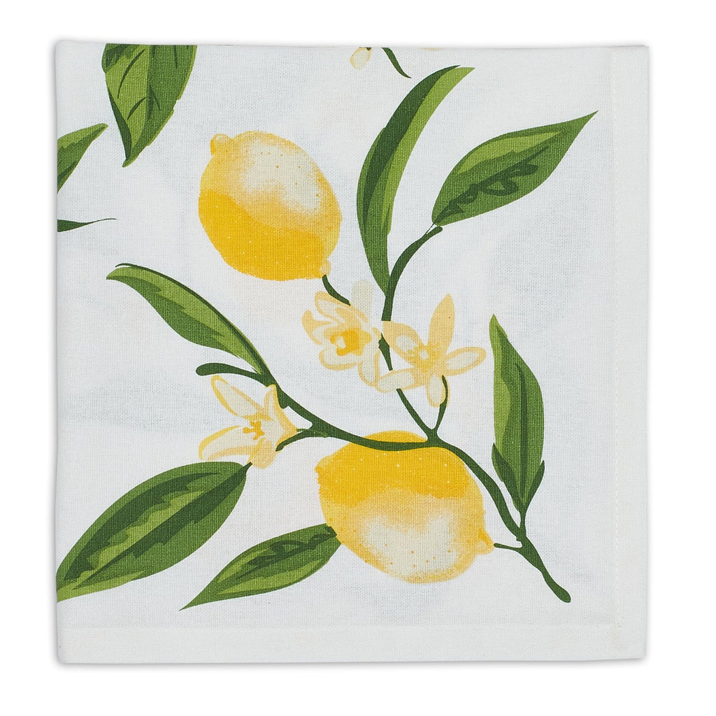 Wholesale Lemon Bliss Printed Napkin - DII Design Imports