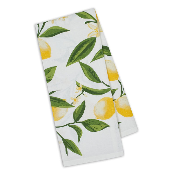 Lemon Bliss Printed Dishtowel