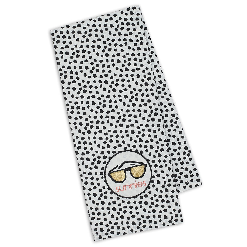 Sunnies Shades Embellished Dishtowel - DII Design Imports