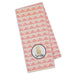 Wholesale Smile Pineapple Embellished Dishtowel - DII Design Imports