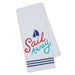 Wholesale Sail Away Embellished Dishtowel - DII Design Imports