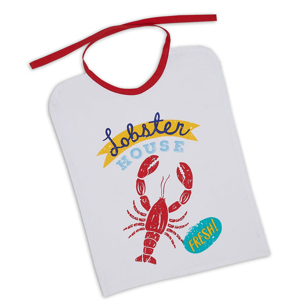 Lobster House Printed Bib - DII Design Imports