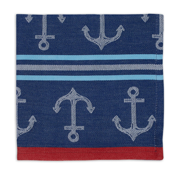 Wholesale Anchor Stripe Jacquard Napkin - DII Design Imports