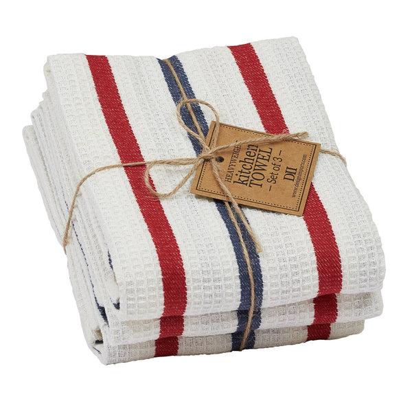 Wholesale Patriot Heavyweight Dishtowel Set of 3 - DII Design Imports