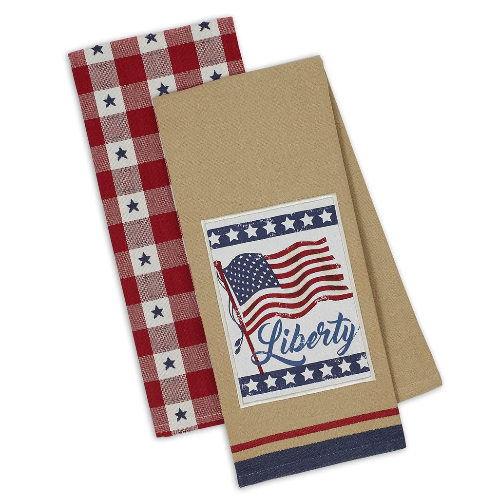 Wholesale Liberty Dishtowel Set of 2 - DII Design Imports