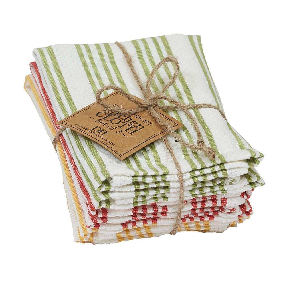 Wholesale Green Thumb Heavyweight Dishcloth Set - DII Design Imports