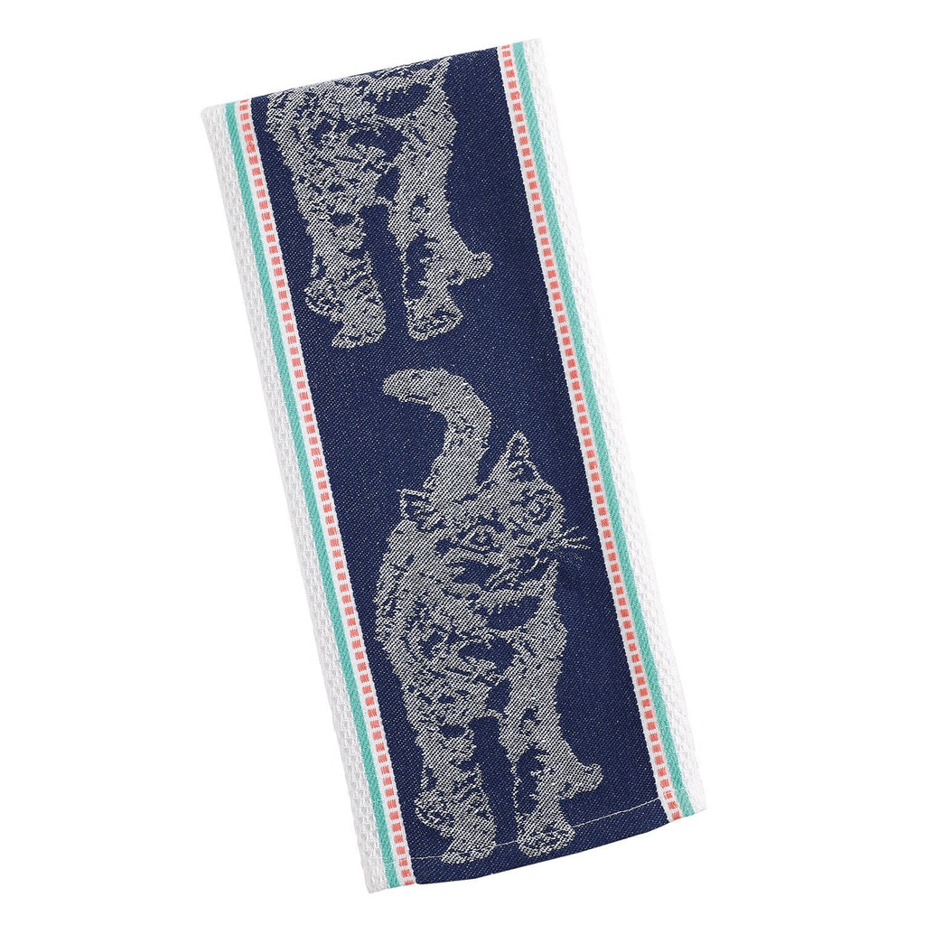 Cat Jacquard Dishtowel - DII Design Imports
