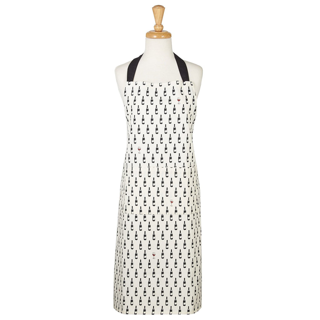 Wholesale Bottle Dots Printed Chef's Apron - DII Design Imports