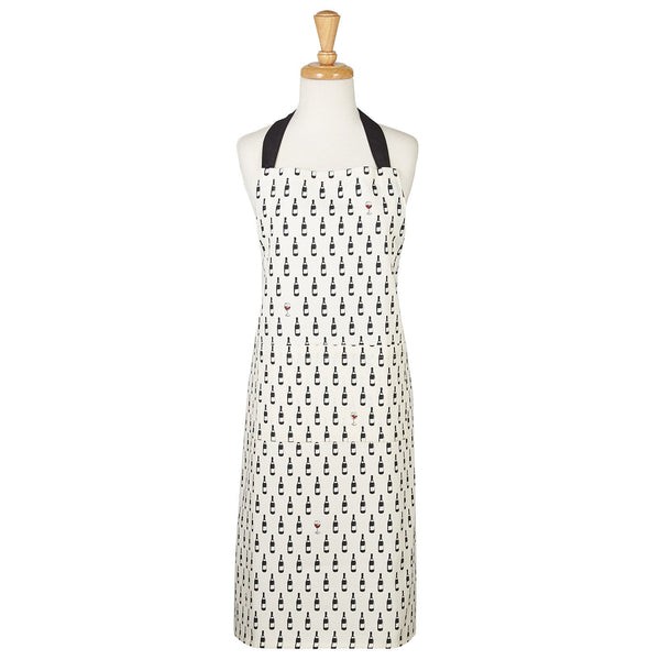 Bottle Dots Printed Chef's Apron