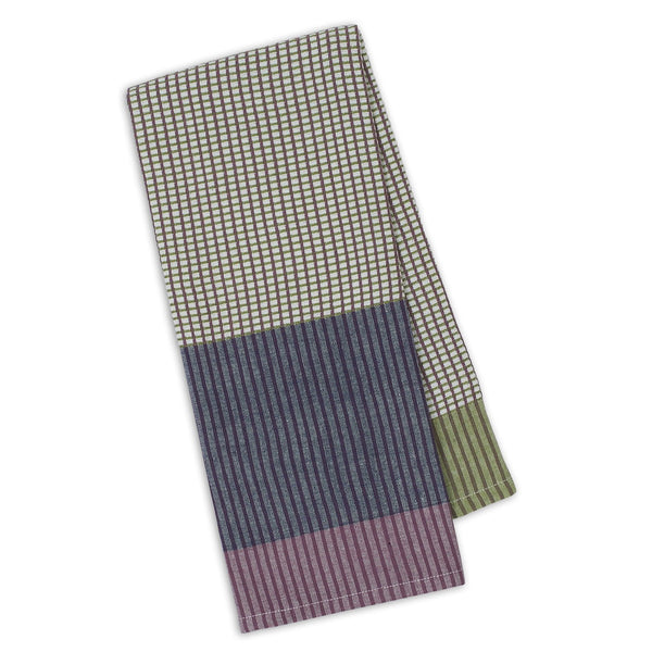Denim/Grape/Sage Waffle Dishtowel - DII Design Imports