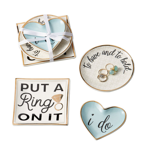 I Do Porcelain Catchall Set - DII Design Imports