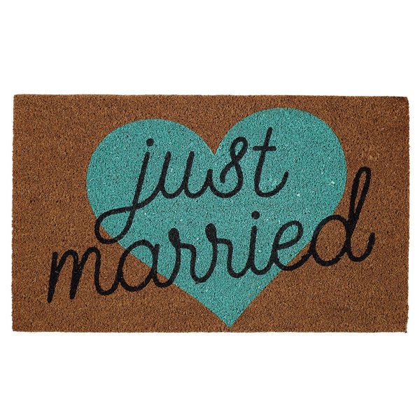 Just Married Doormat - DII Design Imports