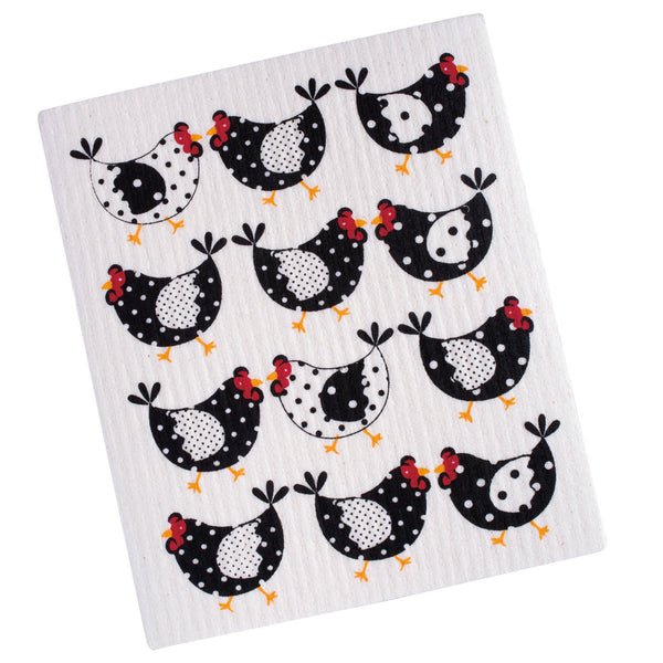 Wholesale Chickens Swedish Dishcloth - DII Design Imports