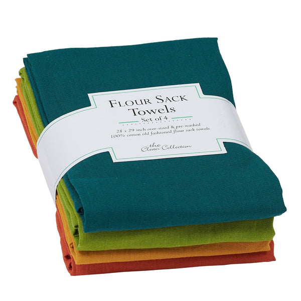 Wholesale Rustic Flour Sack Towels Set of 4 - DII Design Imports